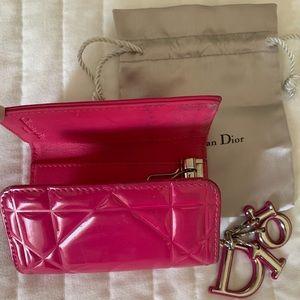 Authentic Dior keys -cards holder
